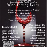 NAB Wine Tasting
