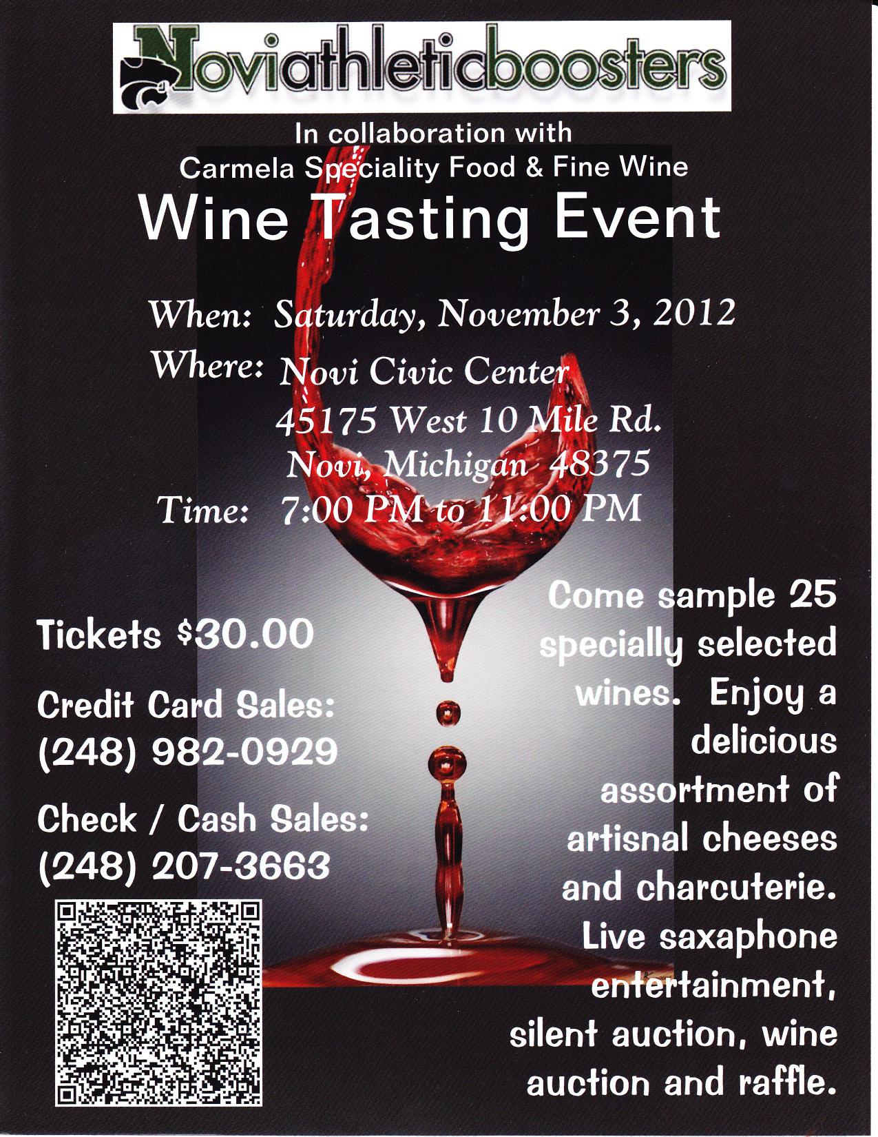 NAB Hosts Wine Tasting Event