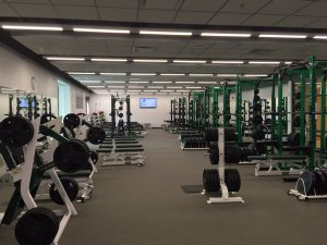 Picture of Novi High School Weight Room